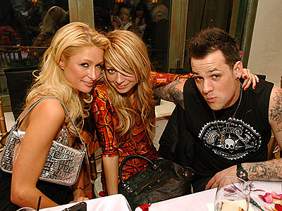 A NEVER-ENDING PARTY photo | Joel Madden, Nicole Richie, Paris Hilton