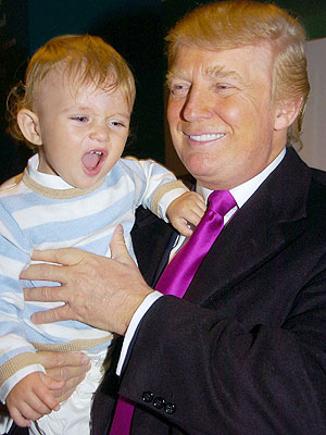 WHO&#39;S HIS DADDY? photo | Donald Trump