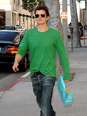 GOING GREEN photo | Orlando Bloom