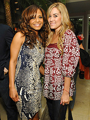 WELL PATTERNED photo | Christina Milian, Lauren Conrad
