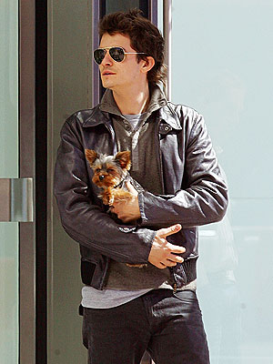 LUCKY DOG photo | Orlando Bloom