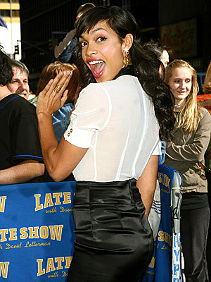 BUMP AND 'GRIND' photo | Rosario Dawson