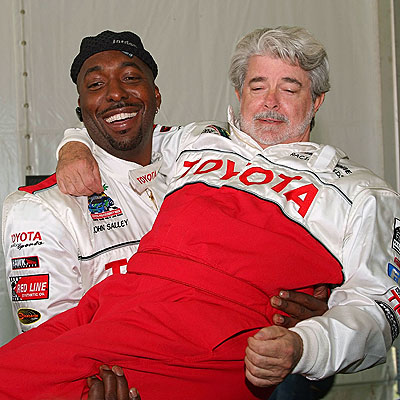 LIFT OFF photo | George Lucas, John Salley