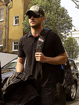 LONDON BEATS photo   Justin Timberlake