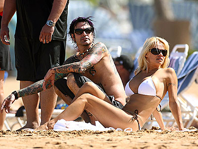 SURF & TURF photo | Pamela Anderson, Tommy Lee