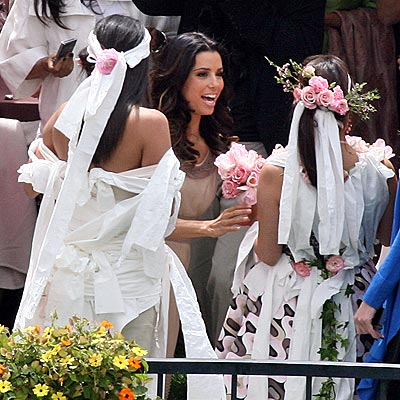 BRIDAL PARTY photo | Eva Longoria