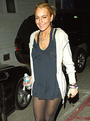 NO PANTS REQUIRED? photo | Lindsay Lohan