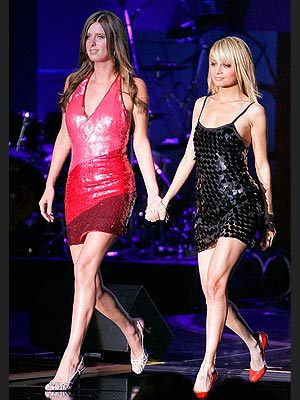 OPENING ACT photo | Nicole Richie, Paris Hilton