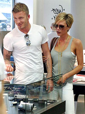 B-DAY TREAT photo | David Beckham, Victoria Beckham