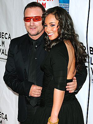 SEXY BACK photo | Alicia Keys, Bono