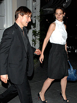 'CUT'-TING OUT photo | Katie Holmes, Tom Cruise
