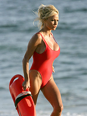 IF THE SUIT FITS... photo | Pamela Anderson