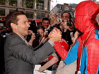 'MAN' OF THE PEOPLE photo | Tobey Maguire