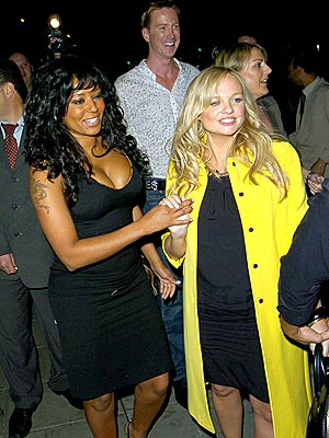 SPICY NIGHT photo | Emma Bunton, Melanie Brown