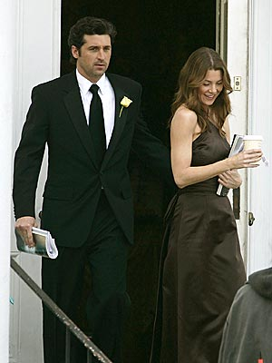 GUESTS OF HONOR photo | Ellen Pompeo, Patrick Dempsey