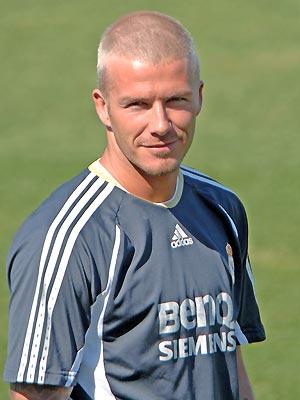 David Beckham short hair wallpaper 3