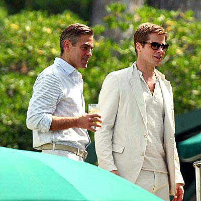 PICTURE PERFECT photo | Brad Pitt, George Clooney