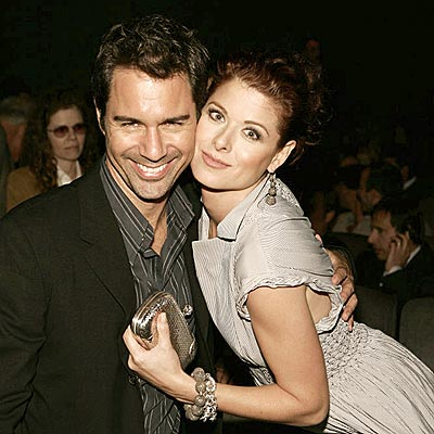 GAY OLD TIME photo | Debra Messing, Eric McCormack
