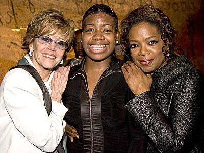 LIVING A FANTASY photo | Fantasia Barrino, Jane Fonda, Oprah Winfrey
