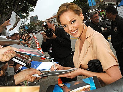WHAT A PEACH! photo | Katherine Heigl