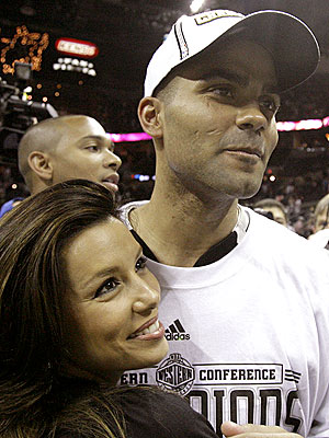TEAM MATES photo | Eva Longoria, Tony Parker