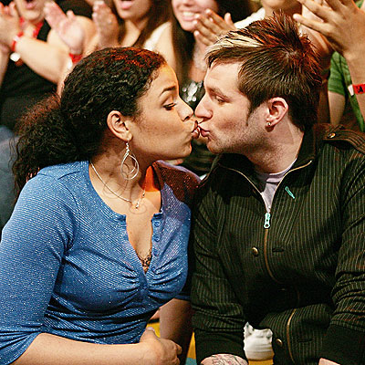 LIP-LOCKED!  photo | Blake Lewis, Jordin Sparks