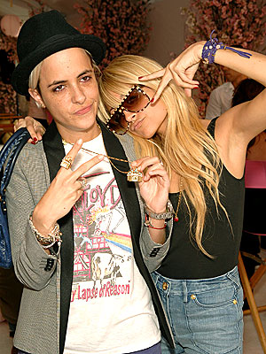 YOUNG HOLLYWOOD photo | Nicole Richie, Samantha Ronson