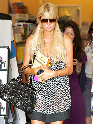 WELL READ  photo | Paris Hilton