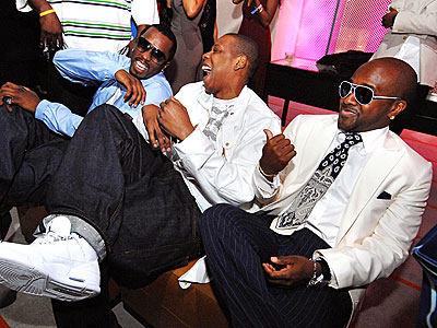 THE RAP PACK photo | Jay-Z, Jermaine Dupri, Sean \P. Diddy\ Combs