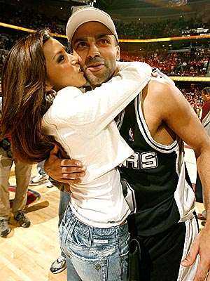 HER MVP photo | Eva Longoria, Tony Parker