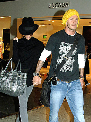 LEAVING ON A JET PLANE photo | David Beckham, Victoria Beckham