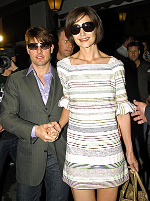DINNER DATE photo | Katie Holmes, Tom Cruise