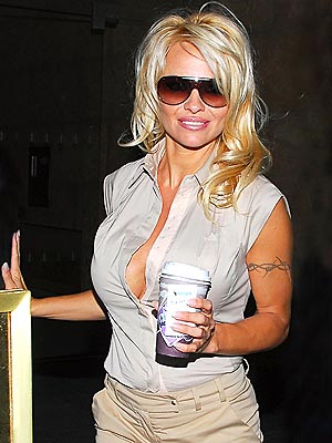 A FULL CUP photo | Pamela Anderson