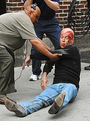 THE STUNT GUY photo | Bruce Willis