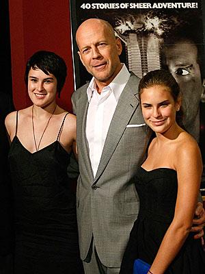 DAD'S TREASURE TROVE photo | Bruce Willis, Rumer Willis, Tallulah Belle Willis