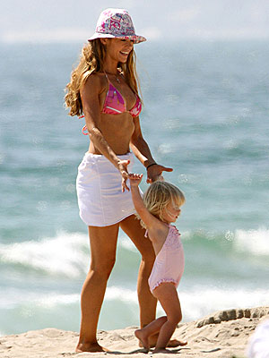 BEACH BABY photo | Denise Richards