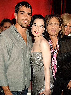 &#39;GLAM&#39; SQUAD photo | Dita Von Teese, Jesse Metcalfe, Steven Tyler