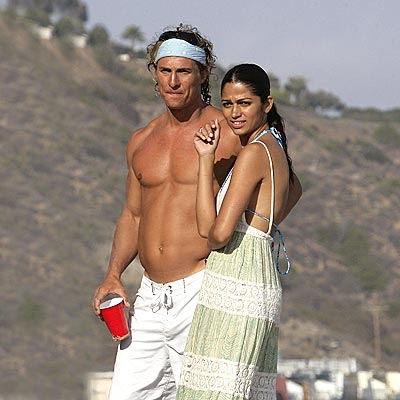 BEACH PARTY photo | Matthew McConaughey
