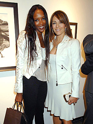 BRITISH VOGUING photo | Elizabeth Hurley, Naomi Campbell