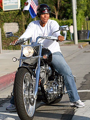 BIKER CHICK  photo | Queen Latifah