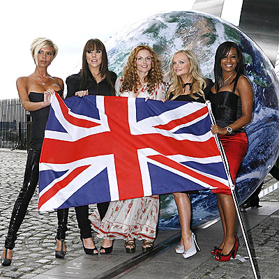 GIRL POWER  photo | Spice Girls, Emma Bunton, Geri Halliwell, Melanie Brown, Victoria Beckham