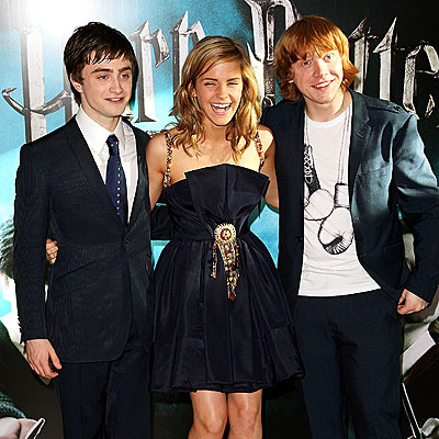 THREE'S A CHARM photo | Daniel Radcliffe, Emma Watson, Rupert Grint