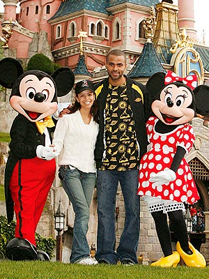 IN THE MOUSE HOUSE photo | Eva Longoria, Tony Parker