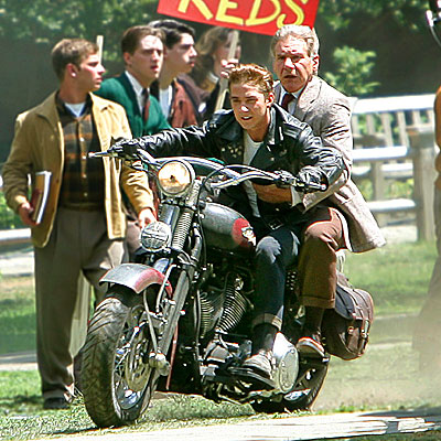 REVVED TO GO! photo | Harrison Ford, Shia LaBeouf