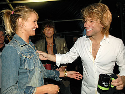 MEET & GREET photo | Cameron Diaz, Jon Bon Jovi