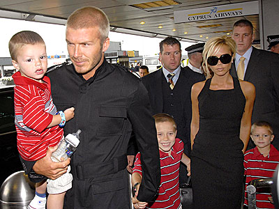 COMING TO AMERICA! photo | David Beckham, Victoria Beckham