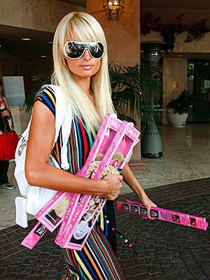 Katie schwartz paris hiltons generosity is boundless the caption hair to spare before hitting the hollywood club scene for the first time since her release from jail paris hilton picks up some boxes of pmusecretfo Gallery
