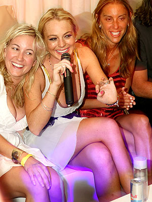 VEGAS WEEKEND photo | Lindsay Lohan