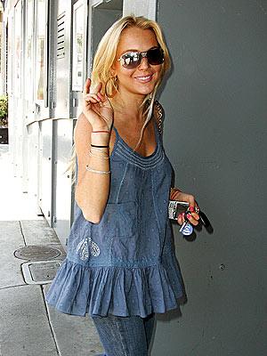 SUNNY DISPOSITION  photo | Lindsay Lohan