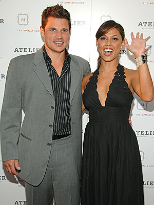 DRESSY AFFAIR photo | Nick Lachey, Vanessa Minnillo